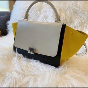 Celine Tri-color medium Trapeze bag